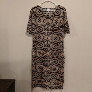LulaRoe dress size L EUC